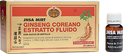 Estratto Fluido Capsule Ginseng Naturando ilHWA